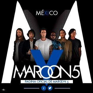 Maroon 5 México Social Profile