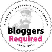 BloggerRequired