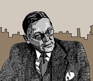 TS Eliot Social Profile