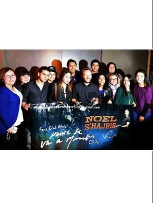 Noel Schajris CHILE® Social Profile