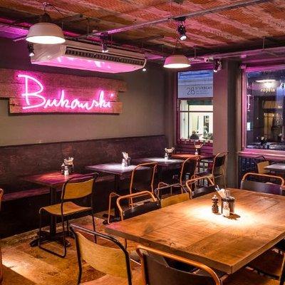Bukowski Grill London's craziest brunch