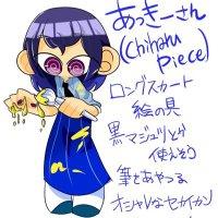 スプラトゥーンプレイヤー ChiharuPiece アイコン