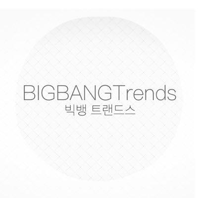 BIGBANGTrends•빅뱅 트랜즈 | Social Profile