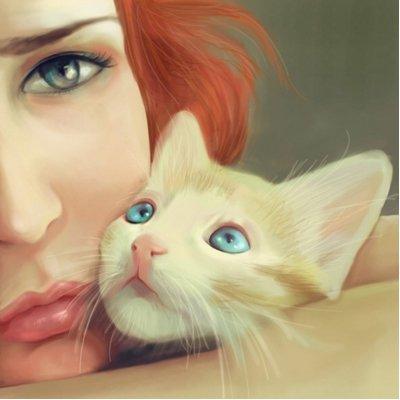 夏小绵。小猫小猫喵~ >▽< Social Profile