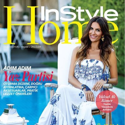 InStyle Home Türkiye  Twitter Hesabı Profil Fotoğrafı
