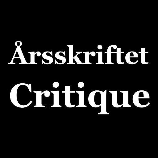 Årsskriftet Critique