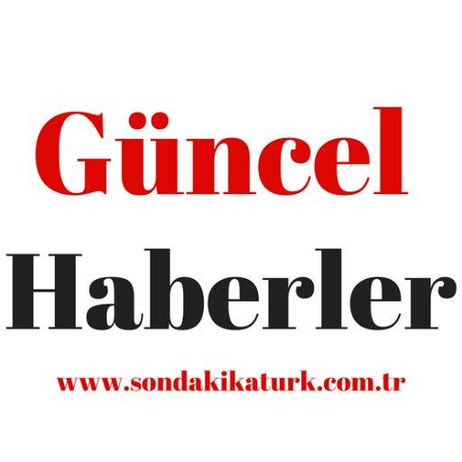 Güncel Haberler's Twitter Profile Picture