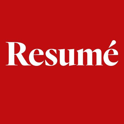 Resumé  Twitter Hesabı Profil Fotoğrafı