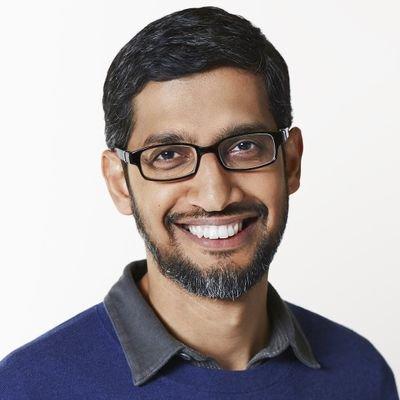 Sundar Pichai's Twitter Profile Picture