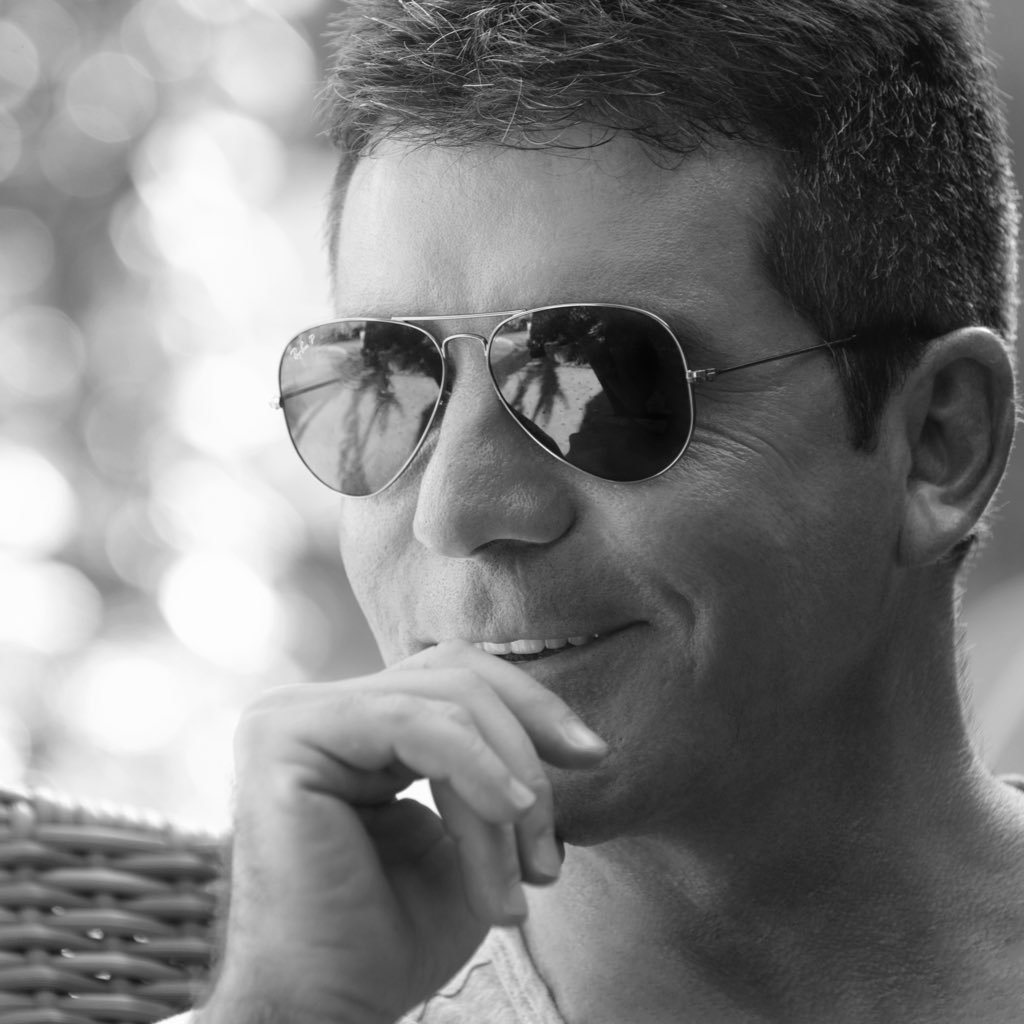 Simon Cowell's Twitter Profile Picture