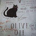 黒猫オリーブ。