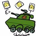 イラストぽんぽん戦車