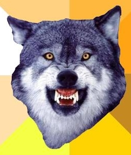 Courage Wolf Social Profile