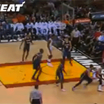 GIF: @easyst0 throws down a jam in the 3rd quarter! http://t.co/D10KuXpJxH