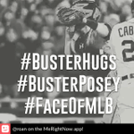 @SFGiants #BusterPosey #FaceOfMLB hes ready ti give his #BusterHugs http://t.co/DoG2izQrxE