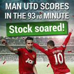 Be a part of the MANCHESTER UNITED team here and make money here... http://t.co/YTFa9AMwKV #mufc #manutd #shares http://t.co/xLM8qhdmqE