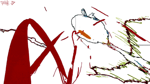 スペース☆ダンディep.#14の原画 (c103+c104)