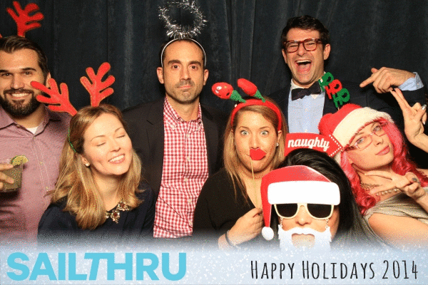 Frolicking around with the greatest marketing team I personally know at @sailthru's christmas party. Happy holidays! http://t.co/ZoOyq0g6DZ
