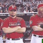 #SeanDoolittles reaction when he found out he was the As representative for #FaceOfMLB. #AthleticsGIFs http://t.co/e4Zd0XrJqv