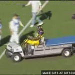 EXCLUSIVE LOOK at Marshawn Lynch driving to the stadium. http://t.co/6lIp17Sa4G