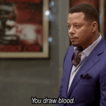 """You draw blood."" –Lucious The battle has begun. #empire http://t.co/KERX2F0VLN"