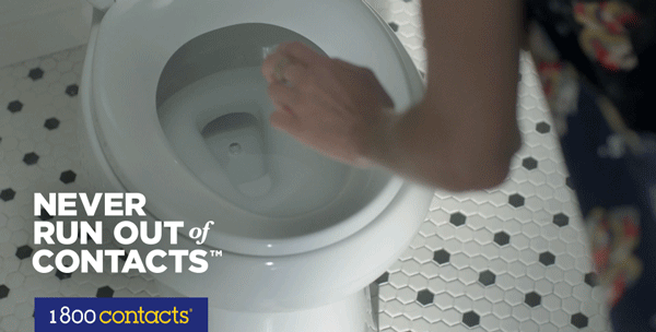 Don't let your morning end up in the toilet. Download the app today http://t.co/N9uACcSb4X #NeverRunOutofContacts. http://t.co/0g6UQcCHxi