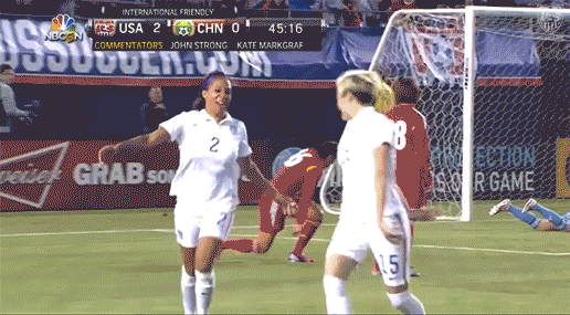 Morning, world! Oh, hey...It's gameday! #USAvMEX #USWNT http://t.co/lpfzEe9JHR