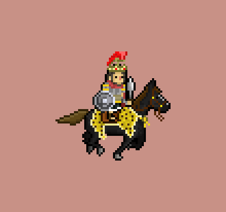 More heroes for #Okhlos! Can you guess who is this? #greekHistory #ihateanimatinghorses #pixelart http://t.co/Y1xuRhFnbw