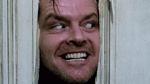 Heeeeere s Johnny!  Happy 80th birthday to great Jack Nicholson: