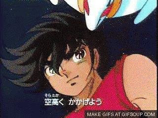 1988年4月23日、聖闘士星矢新シリーズ神闘士(ゴッドウォリアー)編放送!(*・ω・)ノここから「ソルジャードリーム」