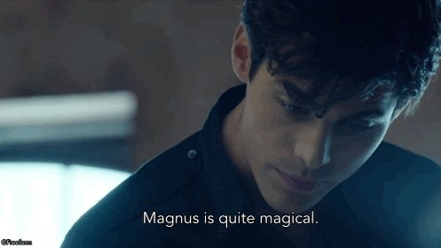 RT @ShadowhuntersTV: That he is. ✨ #Shadowhunters https://t.co/St4sFQtX0x
