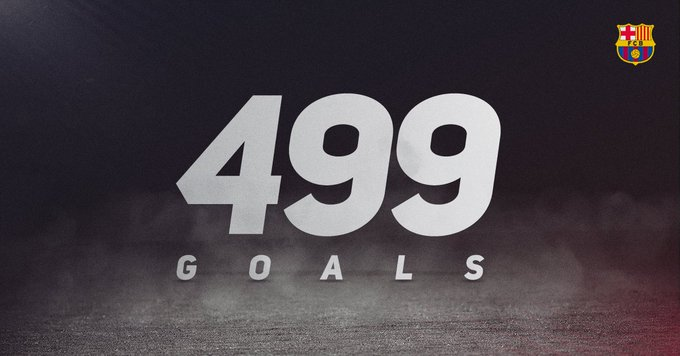 #Messi500 Just one more please, Leo!