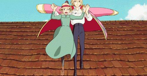 Howl no Ugoku Shiro (ハウルの動く城) - 2004 by Hayao Miyazaki