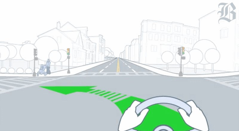 Oncoming traffic, pedestrians, cyclists—why is it so hard for driverless cars to turn left? https://t.co/5d8gxddnEs