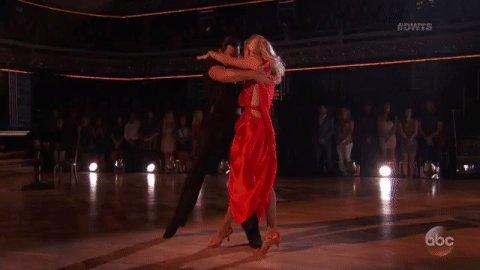 Absolutely stunning! @HeatherMorrisTV & @MaksimC together again! @DancingABC #DWTS