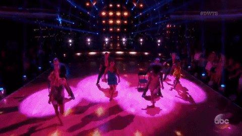 Girl power!#TeamGirlGroup @HeatherMorrisTV, @Simone_Biles @NancyAKerrigan & @NormaniKordei! @DancingABC #DWTS