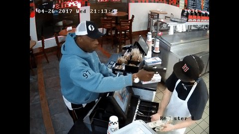 Jimmy John's cashier gives zero f*cks about being robbed at gunpoint