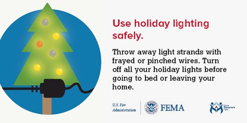 One of every three home Christmas tree fires is caused by electrical problems. #WinterSafety #ChristmasTree https://t.co/YhrHkezGEd