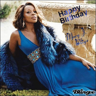 Happy Birthday Mary J. Blige!