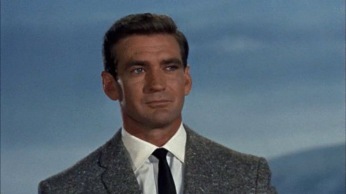 Happy birthday Rod Taylor.  Filmography with Hitchcock: The Birds (1963) cast: Mitch Brenner