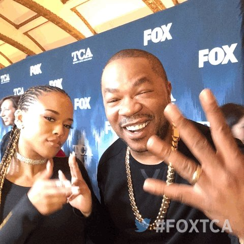 On the #FOXTCA carpet with @xzibit & @Serayah! #Empire #Season4