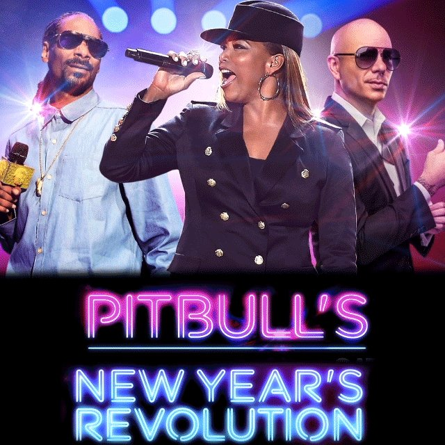 Going live with @SnoopDogg & @QueenLatifah from @BayfrontParkMIA #PitbullNYE NOW on FOX! #HappyNewYear https://t.co/5YPagGwtfz