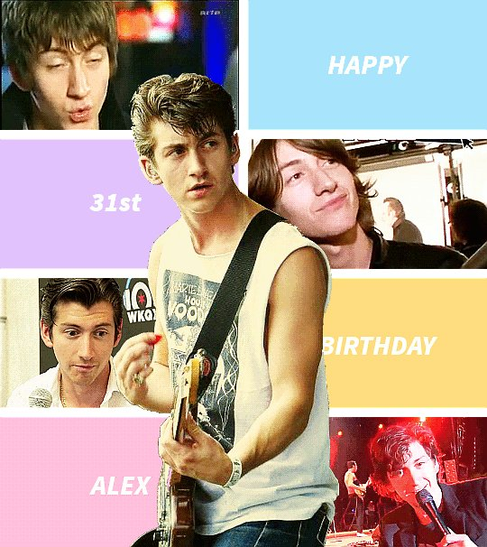 Happy Birthday Alex Turner.