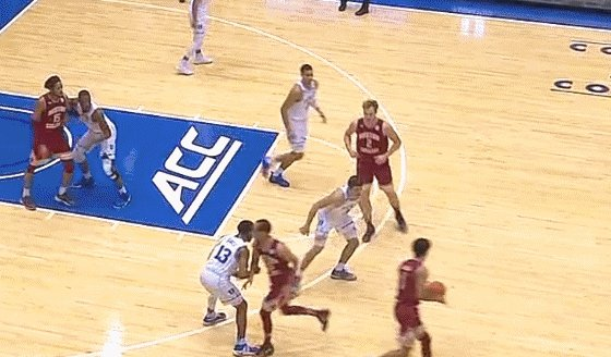 Did Grayson Allen try to trip someone again? https://t.co/ptj70sP8bE https://t.co/CZtFKVpAcy