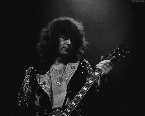 Happy Birthday to Jimmy Page of Led Zeppelin! He turns 73 today. More birthdays here -