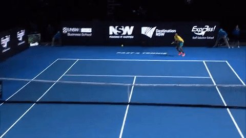 Also, @NickKyrgios made some great forehand rocket winners on his #fast4tennis win against Nadal. https://t.co/9JeeRfEml6