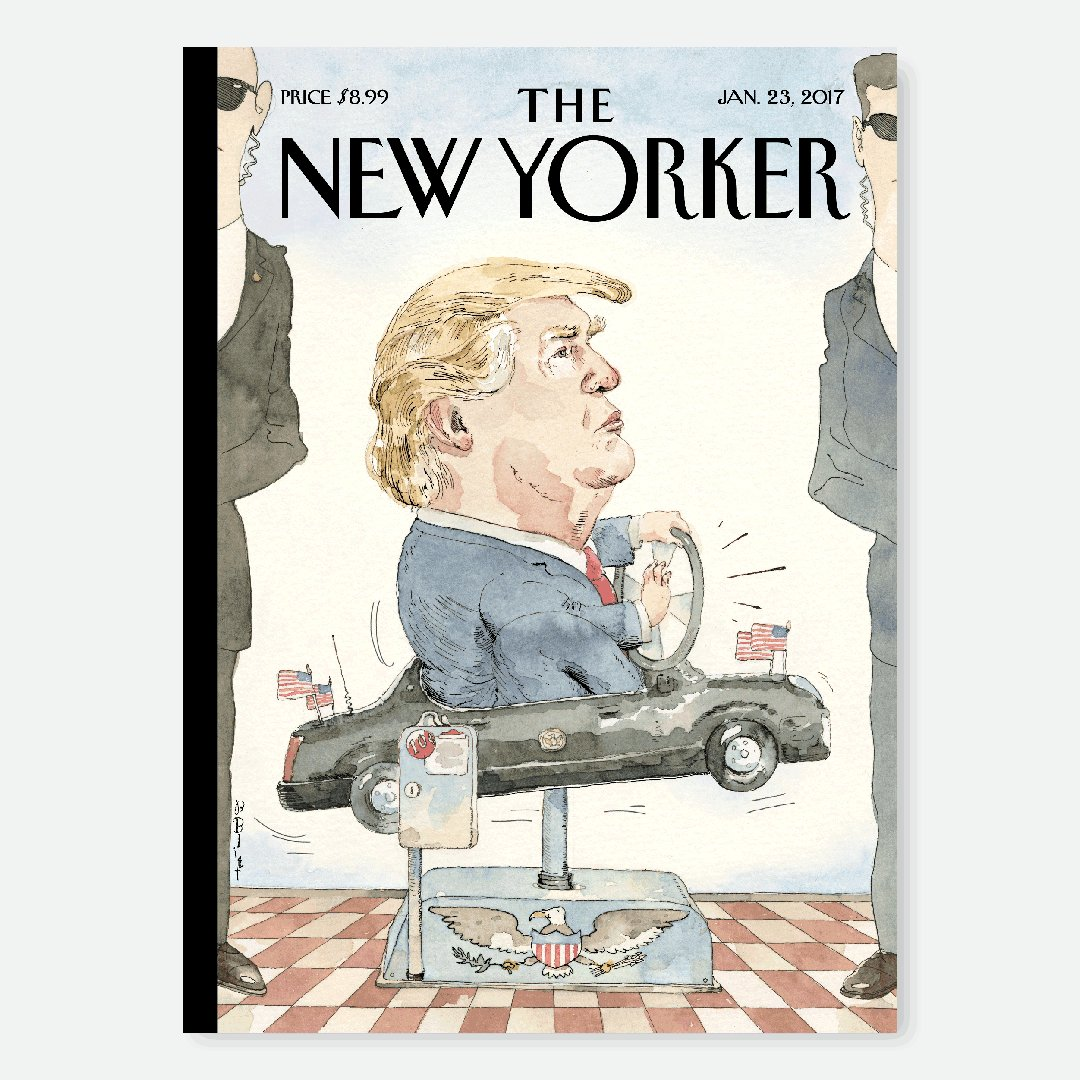 "An early look at next week's cover, ""At the Wheel,"" by Barry Blitt: https://t.co/qerdzyQXfU https://t.co/i5yugJjrXZ"