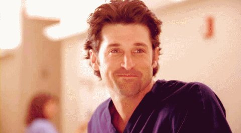 Happy birthday, Add some McDreamy to your queue: