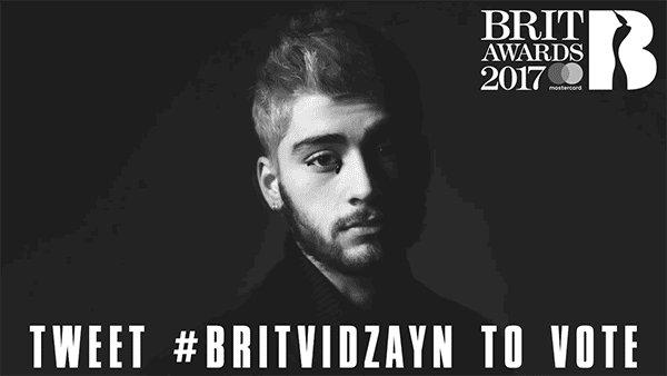 Massive thanks for the @Brits nominations ! #BRITVIDZAYN