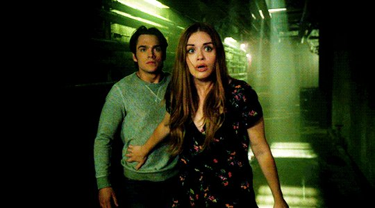 don't let lydia's cute fashions fool you ..you don't want this fight! #TeenWolf